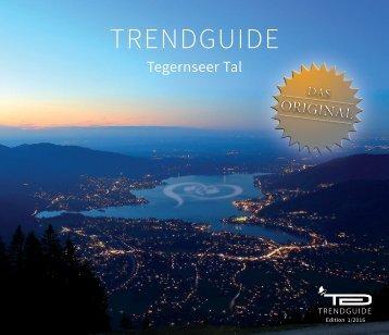 Trendguide Tegernseer Tal Vol. 13