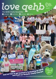 The QEHB Charity Newsletter