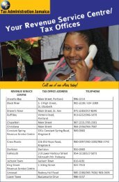 Your Tax Offices - Tax Administration Jamaica (TAJ)