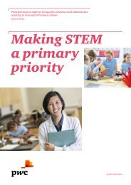 Making STEM a primary priority