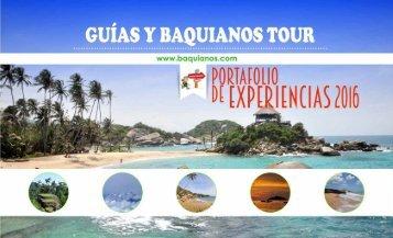 brochure baquianos tour