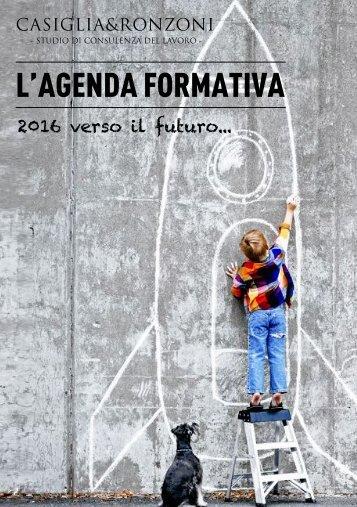 L'AGENDA FORMATIVA