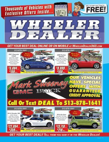 Wheeler Dealer Issue 15, 2016