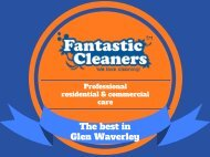 Fantastic Cleaners Glen Waverley