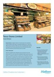 Tesco Stores Tesco Stores Limited - Halton