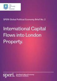 International Capital Flows into London Property