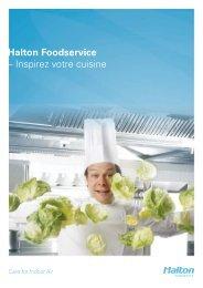 Halton Foodservice –  Inspirez votre cuisine