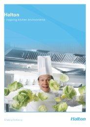 Inspiring kitchen environments - Halton Foodservice GmbH