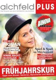Aichfeld Plus Magazin April 2016