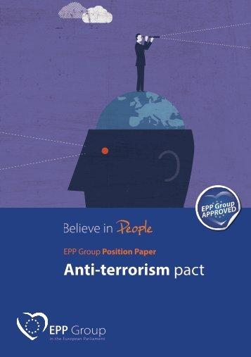 Anti-terrorism pact