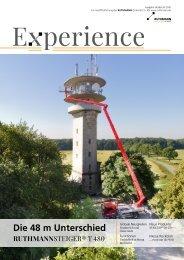 Experience Ausgabe Herbst 2015