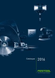 Festool 2016 Catalogue