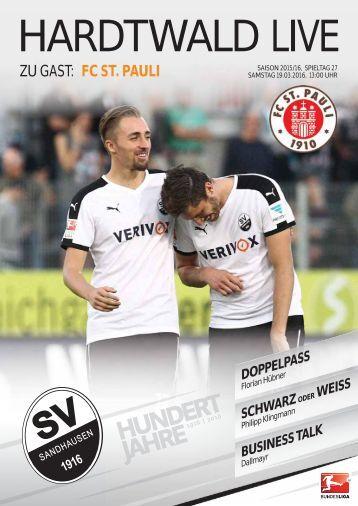 Hardtwald Live, Heft 14, Saison 2015/16