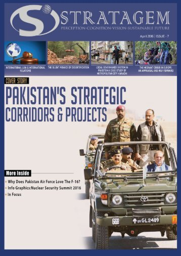 Quarterly Magazine www.stratagem.pk