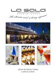 La Sala Banus Corporate Brochure