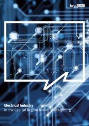 Electrical Industry in the Capital Region Berlin-Brandenburg
