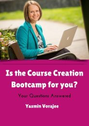 Is the Course Creation Bootcamp for you?