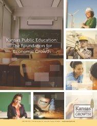 Kansas Public Education The Foundation for Economic Growth