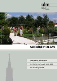 Geschäftsbericht 2008 - Ulm/Neu-Ulm