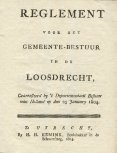 Dubbel reglement Loosdrecht 1804 - Page 3