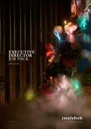 EXECUTIVE DIRECTOR JOB PACK