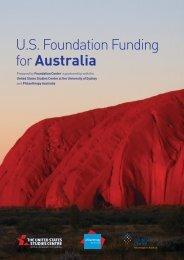 U.S Foundation Funding for Australia