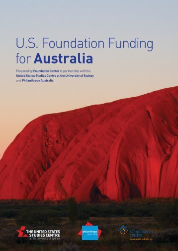 U.S Foundation Funding for Australia
