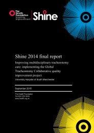 Shine 2014 final report