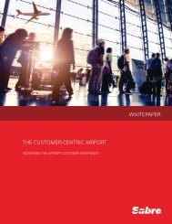 WHITEPAPER THE CUSTOMER-CENTRIC AIRPORT