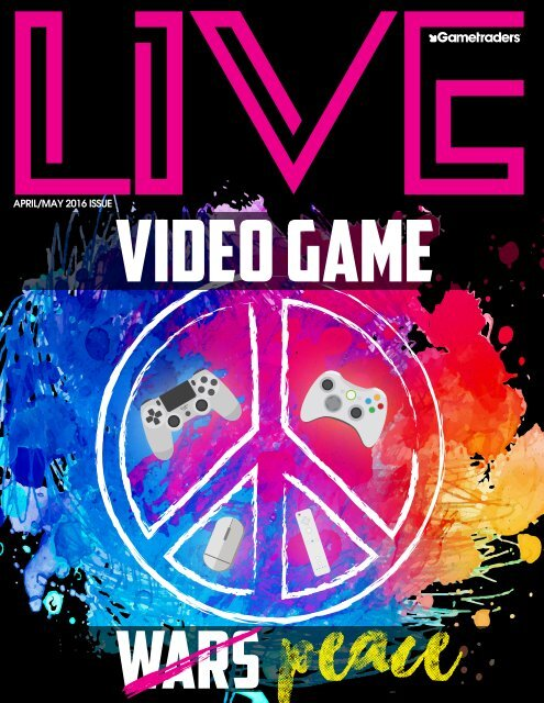 Live Magazine - Video Games, Cosplay and Pop Culture