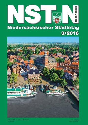 Niedersächsischer Städtetag 3/2016