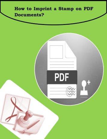 Create Stamp Text on PDF