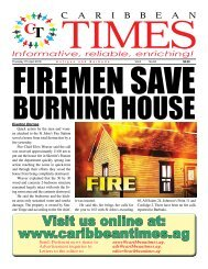 Caribbean Times 84th issue - Thursday 7th April 2016