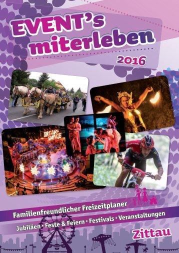 Events miterleben Zittau - 2016
