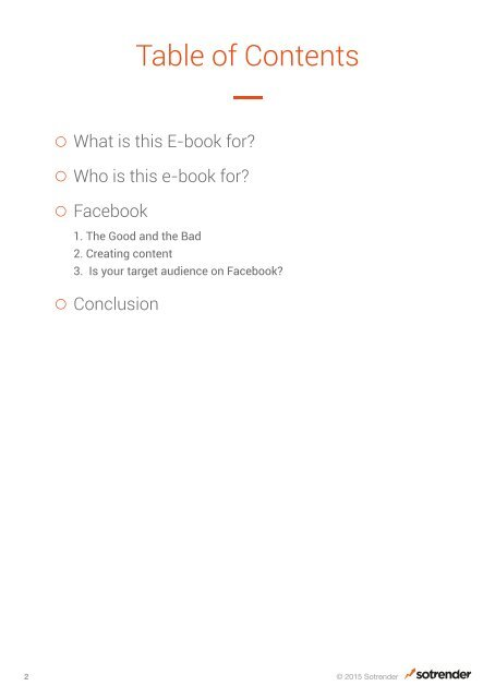 Power tips about Facebook