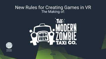 New Rules for Creating Games in VR