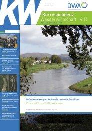 Korrespondenz Wasserwirtschaft 4 16