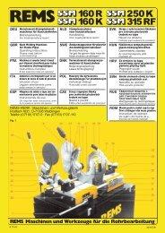 Maschinen und Werkzeuge für die Rohrbearbeitung