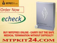 Buy Mifeprex Online - Carry out the Safe Medical Termination without Difficulty