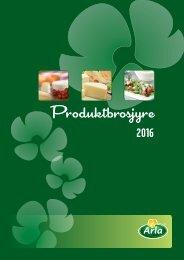 Arla produkter 2016