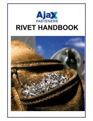 blind rivets rivet handbook - Ajax Fasteners