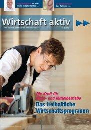 Wirtschaft aktiv - September 2013