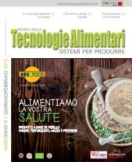 Tecnologie Alimentari 1 2016