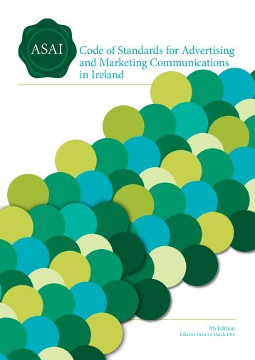 Code of Standards for Advertising and Marketing Communications in Ireland