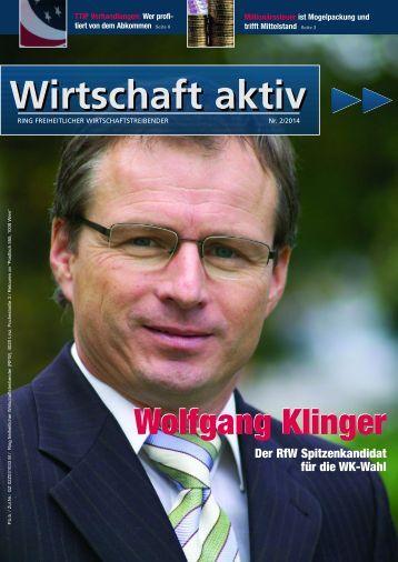 Wirtschaft aktiv - September 2014