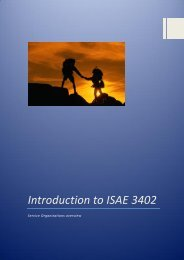 Introduction to ISAE 3402
