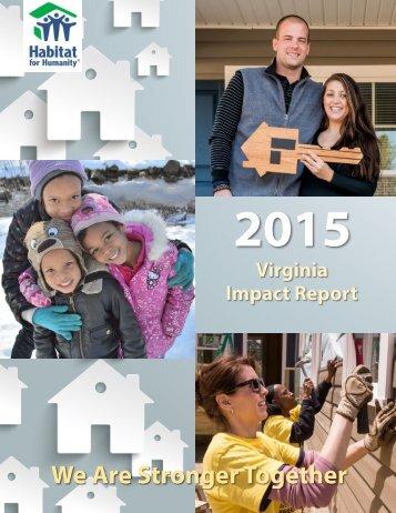 Community Impact Report 1