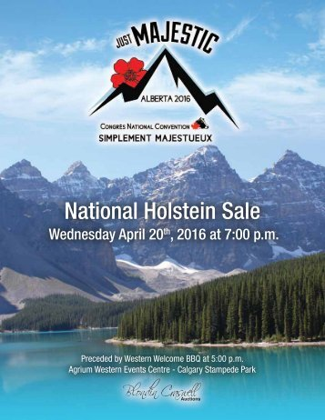 National Holstein Sale