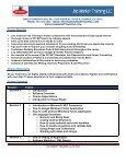C# & ASP.NET DEVELOPER COURSE - Job Market Training LLC - Page 2