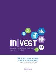 MEET THE DIGITAL FUTURE OF WEALTH MANAGEMENT